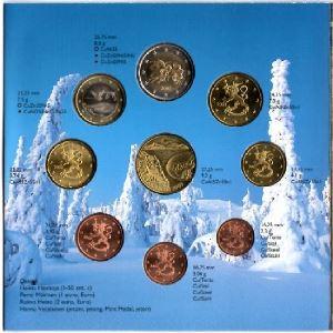 Euro, Finlande, coffret Brillant Universel 2003