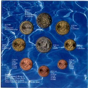 Euro, Finlande, coffret Brillant Universel 2004