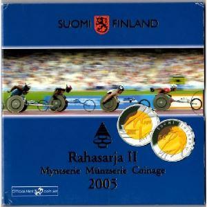 Euro, Finlande, coffret Brillant Universel 2005