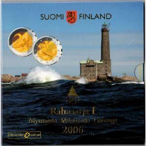 Euro, Finlande, coffret Brillant Universel 2006