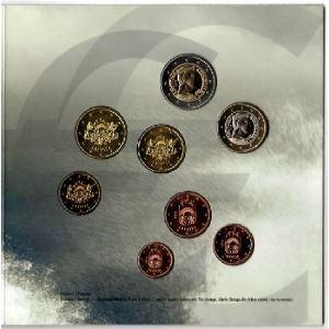 Euro, Lettonie, coffret Brillant Universel 2014