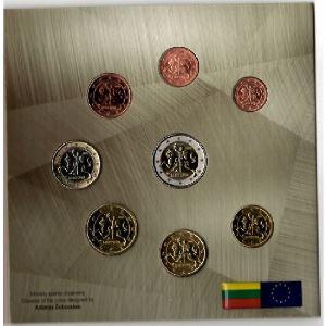 Euro, Lithuanie, coffret Brillant Universel 2015