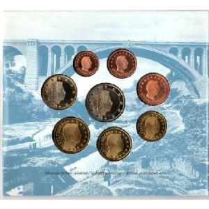 Euro, Luxembourg, coffret Brillant Universel 2003