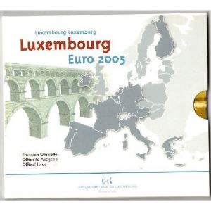 Euro, Luxembourg, coffret Brillant Universel 2005