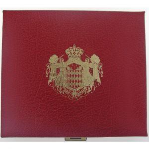 Euro, Monaco, Rainier III, coffret Belle Epreuve 2004