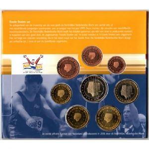Euro, Pays-Bas, coffret Brillant Universel 2001
