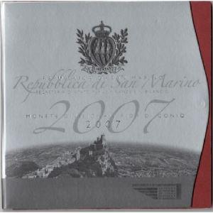 Euro, Saint Marin, coffret Brillant Universel 2007