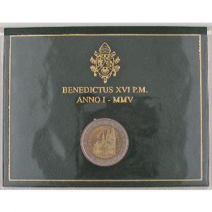 Euro, Vatican, 2 euro 2005, 20ème journée mondiale de la jeunesse