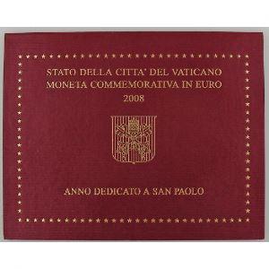 Euro, Vatican, 2 euro 2008, Année dédiée à Saint-Paul