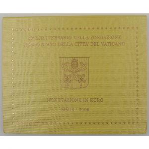 Euro, Vatican, Benoit XVI, Coffret Brillant Universel 2009