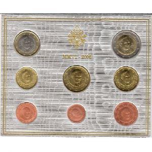 Euro, Vatican, coffret Brillant Universel 2006
