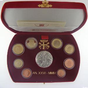 Euro, Vatican Jean-Paul II, coffret Belle Epreuve 2004
