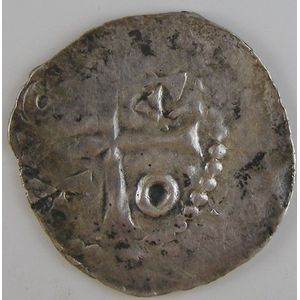 Evêché de Metz, Adalbéron II (984-1005), denier, Flon P174 N°2-3, TB+