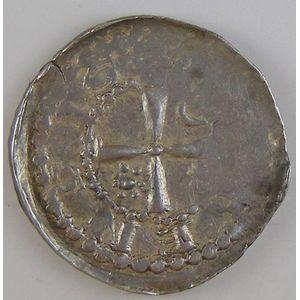Evêché de Metz, Frédéric de Pluvoise (1171-1173), denier, Flon P208 N°1, TTB