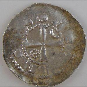 Evêché de Metz, Thierry IV de Lorraine (1173-1179), denier, Flon P209 N°1, TTB
