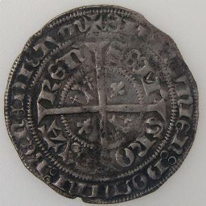 Evêché de Verdun, Louis de Bar (1420-1430), 1/2 Gros de Varennes