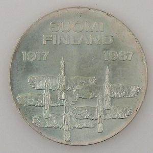 Finland, 10 Markkaa 1967, SUP, KM# 50