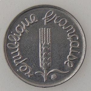 France, 1 Centime 1969 queue longue, SUP+, KM#928 .