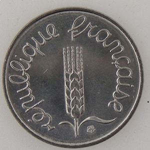 France, 1 Centime 1983, SUP+/SPL, KM#928 .
