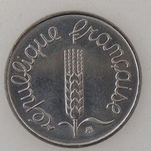 France, 1 Centime 1983 , SUP+/SPL, KM#928 .