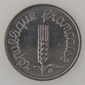 France, 1 Centime 1984, SUP, KM#928 .