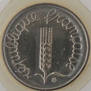 France, 1 Centime 1985, FDC, KM#928 .