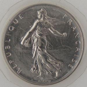 France, 1 Franc 1980, FDC, KM# 925.1
