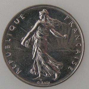 France, 1 Franc 1980, SPL, KM# 925.1