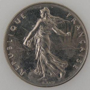France, 1 Franc 1981, SUP+, KM# 925.1
