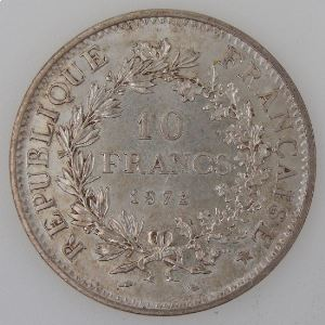 France, 10 Francs 1972, SUP, KM#932