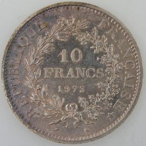 France, 10 Francs 1973, SPL , KM#932