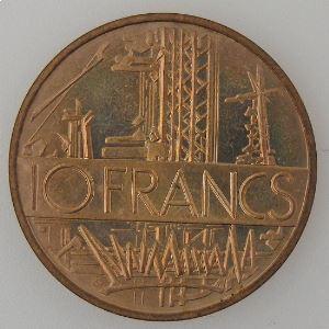 France, 10 Francs 1981, Tranche A, SPL, KM# 940