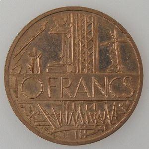 France, 10 Francs 1982, Tranche B, SPL, KM# 940