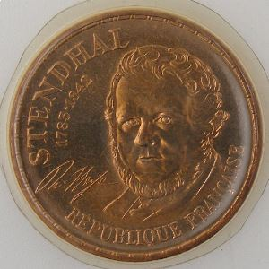 France, 10 Francs 1983 Tranche A, FDC, KM#953