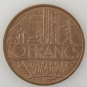 France, 10 Francs 1985 Tranche A, SUP, KM#940