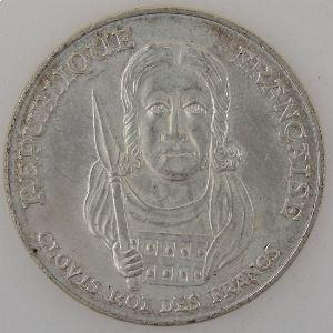 France, 100 Francs 1996, Clovis, SUP, KM#1180