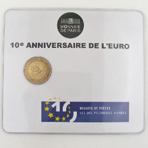 France, 2 Euro 2012 BU, 10 ans de l'Euro