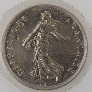 France, 5 Francs 1979 , FDC, KM#926a.1