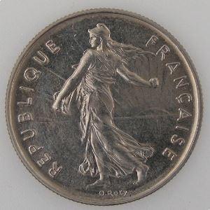 France, 5 Francs 1988, SUP+ , KM#926a.1