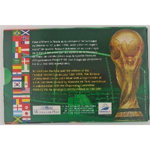 France, 5 Francs 1998 Argent, Finale de la Coupe du Monde de Football, France 98