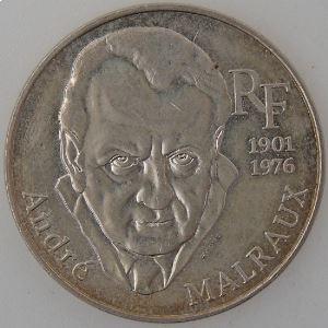 France, André Malraux, 100 Francs 1997, SUP , KM# 1188