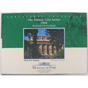France, Coffret Brillant Universel 1998