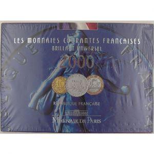 France, Coffret  Brillant Universel 2000