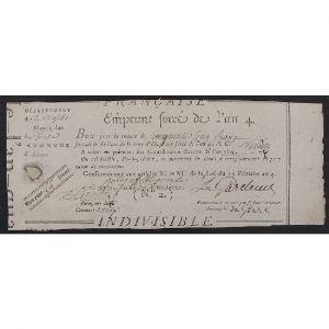 France, Emprunt Forçé, Bon de 55 Francs, Moselle, TB