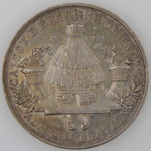 France, Médailles des Caisses d'Epargne.
