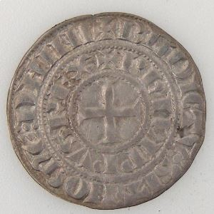 France, Philippe IV , Maille Tierce à l'O rond, TTB/TTB+, Dup:219