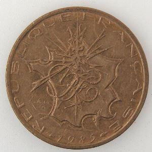 France , 10 Francs 1985 Tranche A, TTB+, KM#940