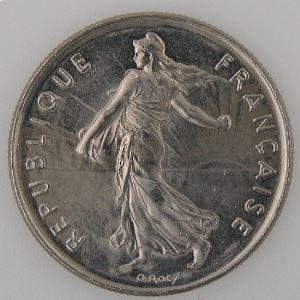 France , 5 Francs 1988, SUP+, KM#926a.1