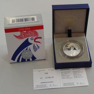 France,10 Euro 2014 BE, Coq,KM#2110