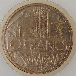 France, 10 Francs 1985, Mathieu, FDC , KM#940
